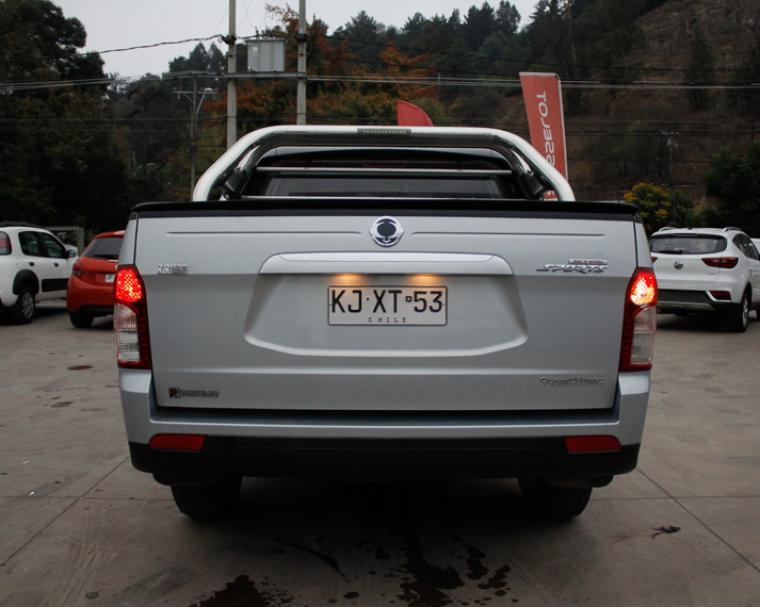 ssangyong actyon-sport 2.2