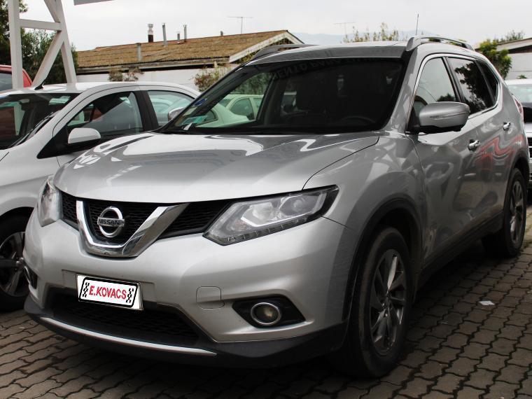 Camionetas Kovacs Nissan X-trail exclusve cvt 2.5 2017