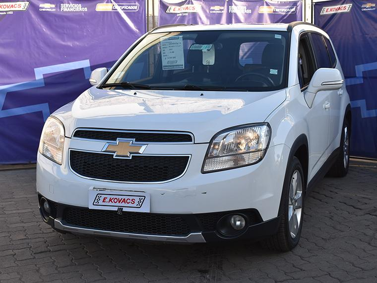 Camionetas Kovacs Chevrolet Orlando lt 2.4 at ac 2015