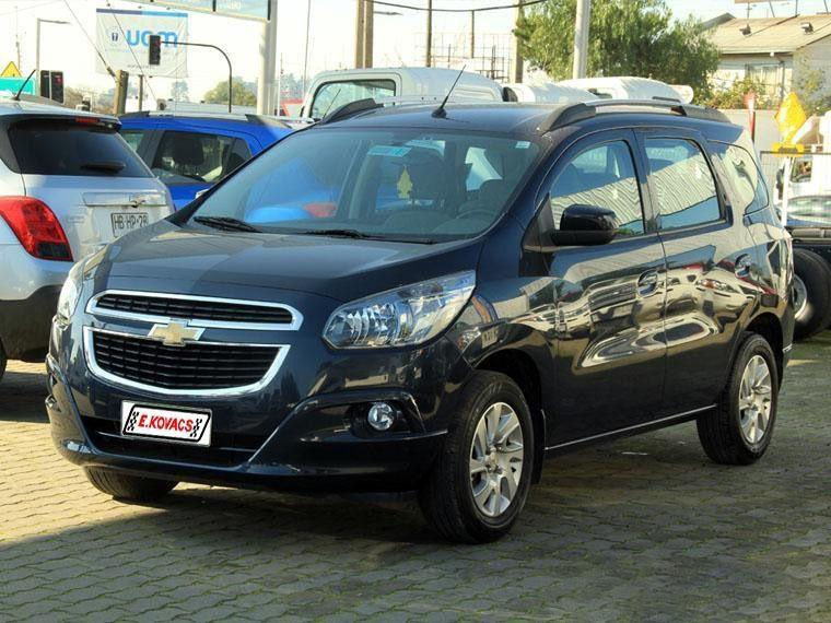 Furgones Kovacs Chevrolet Spin 1.8l mt at 2018
