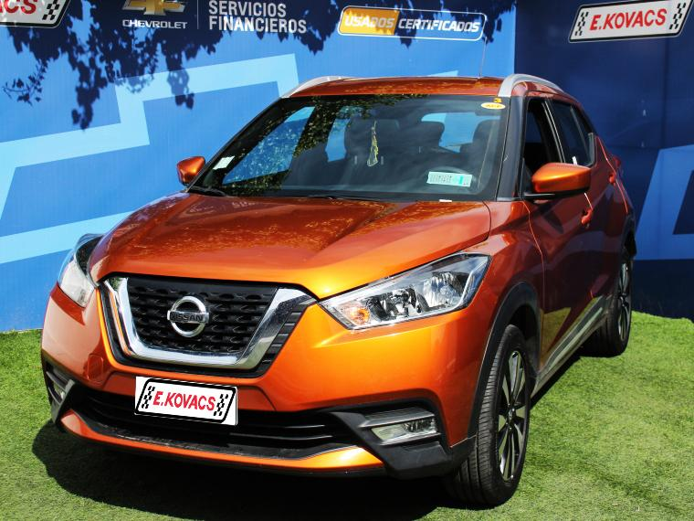 Camiones Kovacs Nissan Kicks advance 1.6 2018