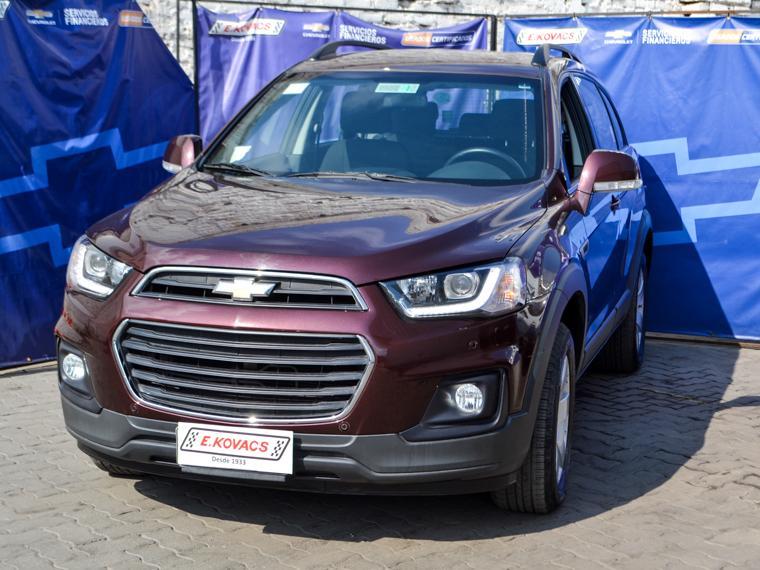 Camionetas Kovacs Chevrolet Captiva ls 2.4 at ac 2017