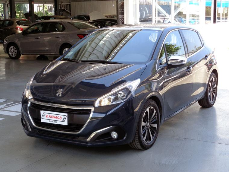 Autos Kovacs Peugeot 208 allure blue hdi 1.5 mt6 2019
