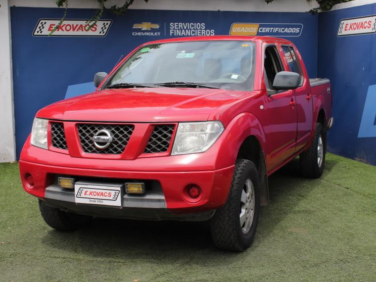 Camionetas Kovacs Nissan Navara dcab 4x4 diesel 2.5 2014