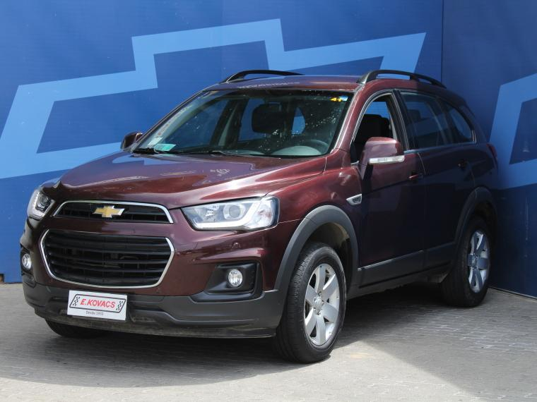 Camionetas Kovacs Chevrolet Captiva ls 2.4 at 2017