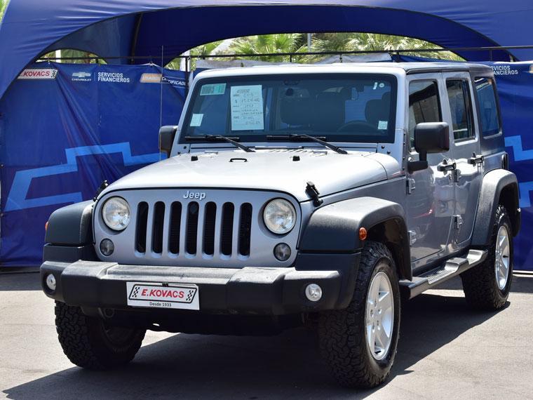 Camionetas Kovacs Jeep Wrangler sport 4x4 3.6 aut 2015